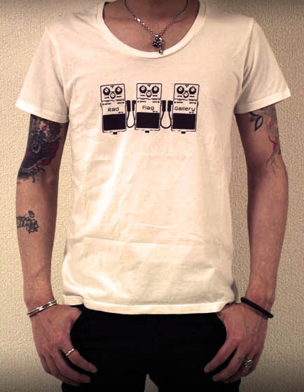 白Tシャツ後