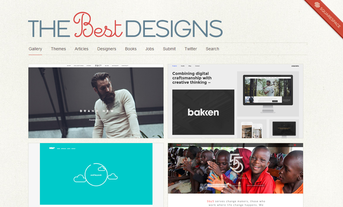 The Best Designs   Best Web Design Awards   Web Design Inspiration